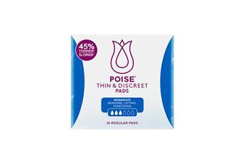Poise®Thin & Discreet Pads