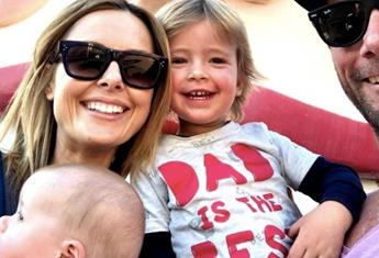 """EXCLUSIVE: Allison Langdon says she felt like a """"terrible mum"""" after the birth of her son"""