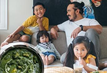 "Adam Liaw shares his family favourite ""Creamy Chicken Saagwala Recipe"" and YUM!"