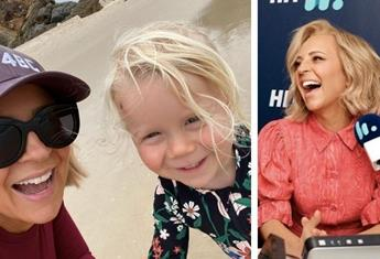 Carrie Bickmore's hilarious Christmas present hack for her two-year-old daughter