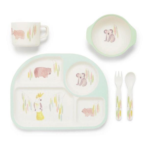 Purebaby dinner set