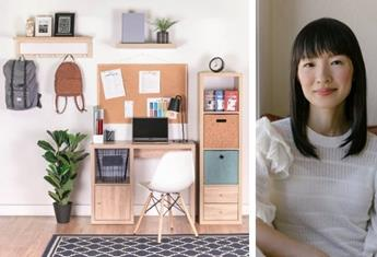 Back to school: How to create an organised KonMari-style school bag station and study area