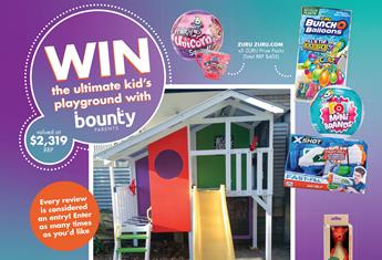 WIN THE ULTIMATE KID'S PLAYGROUND!