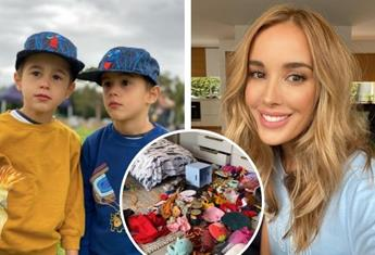 Bec Judd shares a video of her twins messy bedroom during lockdown – and we so get it