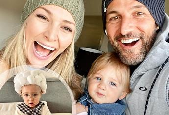 Anna Heinrich and Tim Robards share beautiful photos and all the precious 'firsts' with their baby girl, Elle