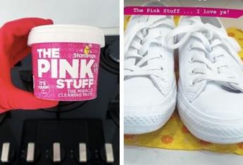 UK 'miracle' cleaning product The Pink Stuff is now available in Australia, here's five of the best hacks for using it
