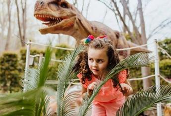 Dinosaur fans will have a roarsome time at Mega Creatures these school holidays