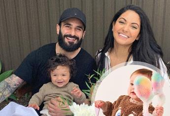 EXCLUSIVE: Gogglebox's Matty Fahd on how baby Malik inspired eco-conscious, kids' boutique, 'TMRW Kids'