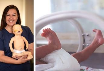 Melbourne paediatric nurse creates a genius product which allows premature babies to breathe easier