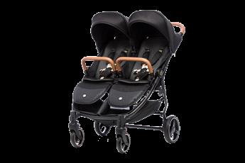 Babybee LUNA Side-By-Side Double Stroller.