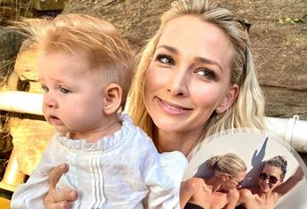 Anna Heinrich hits back at the 'mum-shamers' who had a problem with her bikini photo
