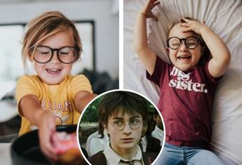 Getting kids to wear glasses: How Harry Potter and pop culture heroes have made glasses cool