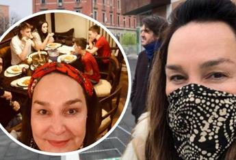 Kate Langbroek on lockdown life in Italy and the beauty she found from parenting in a pandemic