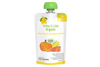 Little Étoile Organic Sweet Potato, Pumpkin & Corn