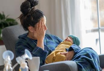 Three ways to ease 'baby blues' and look after your mental health