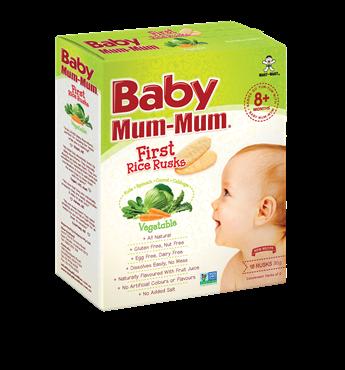Baby Mum Mum Vegetable First Rice Rusks