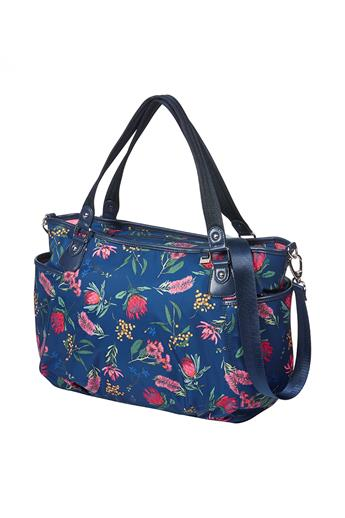 Tote Nappy Bag – Botanical Navy