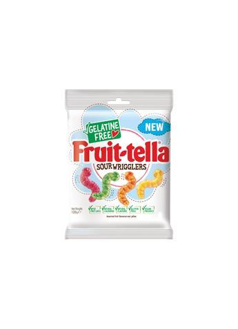 Fruit-tella Gelatine Free Sour Wrigglers