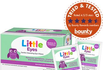 WATCH: Real parents review Little Eyes Gentle Cleansing Wipes