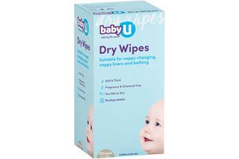 babyU Dry Wipes