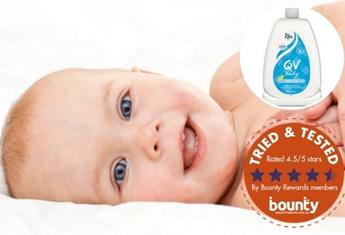 Trial team: Bounty Parents members have their say on QV Baby Bath Oil