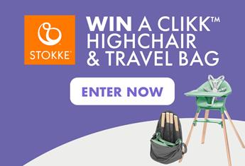 Enter for your Chance to Win A Stokke High Chair & Travel Bag!