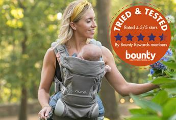 Trial team: Bounty members have their say on the CUDL™ Baby Carrier