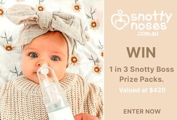 WIN 1 of 3 Snotty Boss Prize Packs from Snotty Noses!