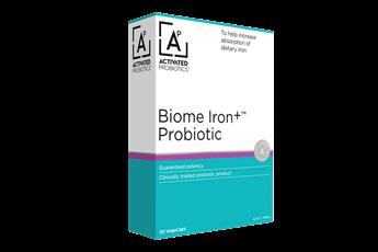 Activated Probiotics Biome Iron+