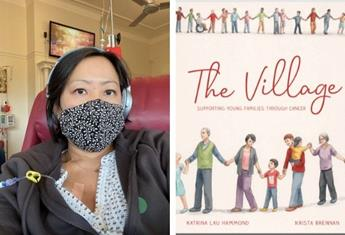 """REAL LIFE: """"I wrote a children's book to help explain cancer because telling my kids I had a life-threatening illness was difficult"""""""