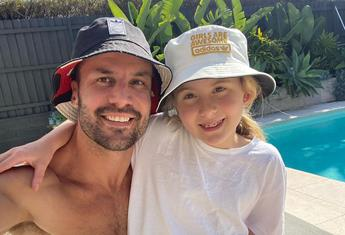 EXCLUSIVE: Funny guy, Beau Ryan says 8yo daughter, Remi can out-joke him!