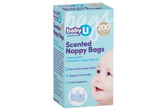babyU Scented Nappy Bags