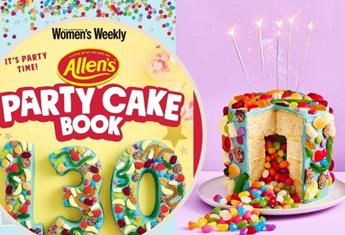 Lolly-palooza! Get the party started with the new Allens Party Cake Book