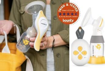 Trial team: Bounty members have their say on the Medela Harmony Single Manual Breast Pump and the Medela Solo Single Electric Breast Pump