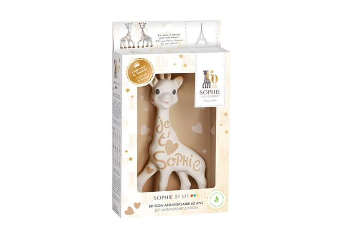 Sophie la girafe® Sophie By Me 60th Birthday Collector Edition
