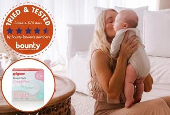 Trial team: Bounty Parents members have their say on Pigeon ComfyFEEL™ Breast Pads